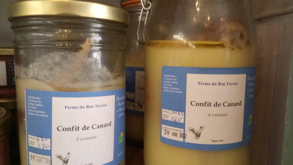 Viandes Le Panier de Louise-  Confits ferme du bon terroir Fransures