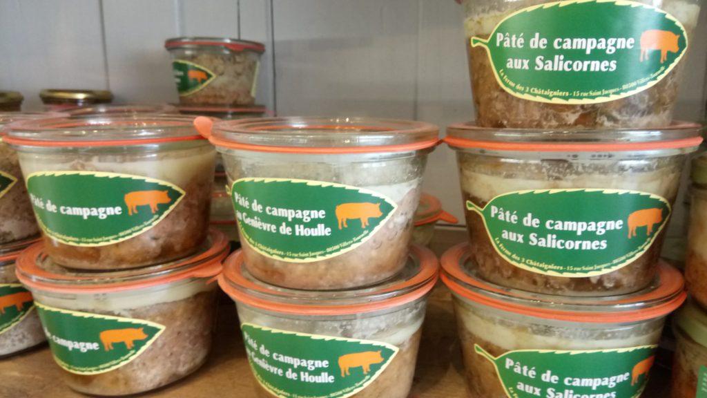 Viandes Le Panier de Louise - Terrines ferme des 3 chataigniers